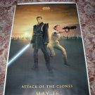 STAR WARS Bus Shelter Poster ANAKIN and PADME