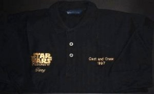 STAR WARS Cast and Crew member Polo Shirt
