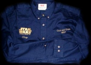 STAR WARS Cast and Crew member Shirt