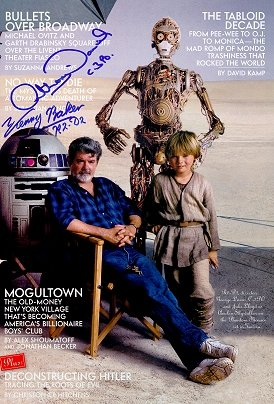 Autographed STAR WARS Special VANITY FAIR Magazine