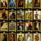 STAR WARS United Kingdom KFC Trading Card Set