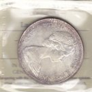 1966 ICCS MS65 $1 (Large Beads) Canada silver dollar one XBC 208
