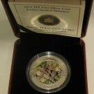 2013 Proof $10 Dragonfly #1-Twelve-Spotted Skimmer Canada .9999 silver ten dolla