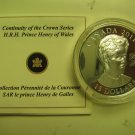 2011 Proof $15 Continuity Crown-Prince Henry (Harry) Wales UHR Canada COIN&COA ONLY silver