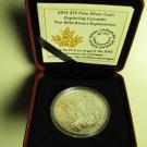 2015 Proof $15 Exploring Canada #7-Wild Rivers fifteen dollars .9999 silver
