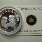 2011 Proof $20 Royal Wedding Prince William Will Catherine Kate COIN&COA ONLY .9999 silver