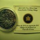 2012 Proof $20 Group of Seven #2-Nova Scotia Fishing Village-Arthur Lismer COIN&COA ONLY NS