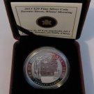 2013 Proof $20 Group of Seven #4-Toronto Street-Lawren S Harris Canada .9999 silver