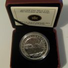 2013 Proof $20 Group of Seven #5-Guardian of the Gorge-Franz Johnston .9999 silver