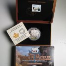 2015 Proof $20 Baby Animals #5-Mountain Goat Kid Coin&Stamp set Canada .9999 silver twenty