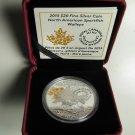 2015 Proof $20 North American Sportfish #3-Walleye Canada .9999 silver twenty