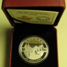 2014 Proof $25 O Canada #2-Scenic Skiing Slopes 1oz .9999 silver twenty-five