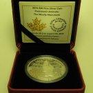 2014 Proof $20 Prehistoric Animals #1-Woolly Mammoth .9999 silver Canada twenty dollars