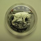 2005 Proof $4 Lynx SML from fractional set Canada 1/2oz .9999 silver four dollars COIN ONLY