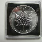 2007 Bullion $5 1 oz .9999 Silver Maple Leaf SML Canada five dollars