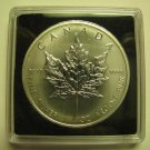 2011 Bullion $5 1 oz .9999 Silver Maple Leaf SML Canada five dollars
