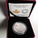 2014 Proof $10 O Canada #8-Bison .9999 silver ten dollars