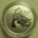 2013 Specimen $20 for $20 #10-Santa Canada .9999 silver COIN ONLY twenty dollars