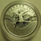2015 Specimen $20 for $20 #15-FIFA Women's World Cup Canada .9999 silver COIN ONLY twenty dollars