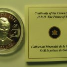2011 Proof $15 Continuity Crown - Prince of Wales (Charles) UHR COIN&COA ONLY Canada silver