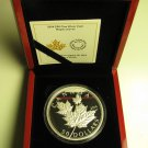 2014 Proof $50 5 oz .9999 Silver Maple Leaves High Relief Canada fifty