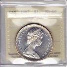 1967 ICCS MS66 $1 CAMEO Canada Centennial Goose one dollar silver XKZ 611