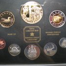 1952-2002 Sp Ltd Ed Proof Set 50th Ann Queen's Accession .925 Silver Gold Plated $ Golden Jubilee