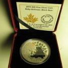 2015 Proof $20 Baby Animals #4-Black Bear Cub Canada .9999 silver twenty