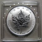2008 Specimen $5 1oz .9999 Silver Maple Leaf SML Fabulous F12 Privy Mark Canada COIN ONLY