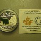 2015 Proof $20 Canadian Icons-Polar Bear Jade Inlay COIN&COA ONLY .9999 silver Canada twenty dollars