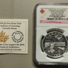2014 NGC PF69 UC Early Releases $5 Aboriginal Tradition Hunting #4-Goose  COIN&COA ONLY .9999 Silver