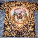 Grateful Dead T-Shirt 1991 Summer Tour Cowboy Bronco Horse Tie Dye NOS L 42-44