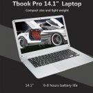 Tbook Pro 14.1 Inch Notebook - Win 10, 4GB RAM, X5-Z8350 Quad Core CPU, Full HD, HDMI
