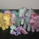 Vintage My Little Pony MLP  - Sundae Best Lot of 5 w/ accessories - Bundle Pricing