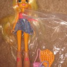 My little pony G4: EG Equestria Girls:   Lot of 5 w/ accessories Wings clothes