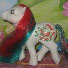 My little pony Vintage G1:  MERRY TREATS Santa holiday