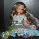 TCFC Vintage Lady Lovely Locks: Maiden FAIRHAIR  w/3 pixies & Shoes