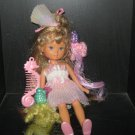 TCFC Vintage Lady Lovely Locks: Maiden FAIRHAIR - Enchanted Island  w/ shoes & 2 pixies