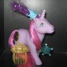 Vintage G 1 My Little Pony MLP - Princess - Misty w/ accessories - Unicorn
