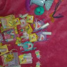 Lot of PERFUME PUFF ACCESSORIES - w/ purse & mesh