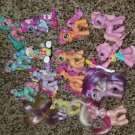 G3  My Little Pony MLP - ponyville lot w / breezies