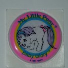 MLP My Little pony Vintage G1 - Baby Glory Puffy Sticker unicorn