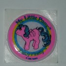 MLP My Little pony Vintage G1 - Baby Firefly Puffy Sticker pegasus