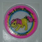 MLP My Little pony Vintage G1 - Posey Puffy Sticker