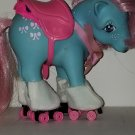 Vintage G 1 My Little Pony MLP - ponywear - Great Skate - FREE TLC Bowtie