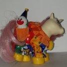 Vintage G 1 My Little Pony MLP - ponywear - Clown w/ pal - FREE TLC Baby Unicorn Moondancer