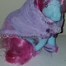 Vintage G 1 My Little Pony MLP - ponywear - Sweetness n Lace - FREE TLC Royal Blue