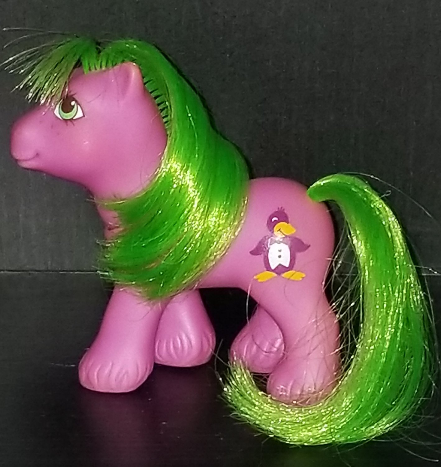 Vintage G 1 My Little Pony MLP - Peek A Boo Brother Boy  - baby Waddles