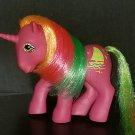Vintage G1 My Little Pony - Hula Hula - Tropical unicorn