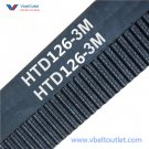 126-3M HTD Timing Belt 18mm